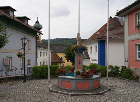 Malebná vesnička Frauenau