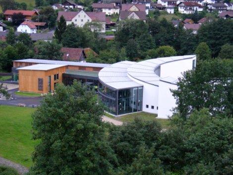 Muzeum skla blízko centra Frauenau