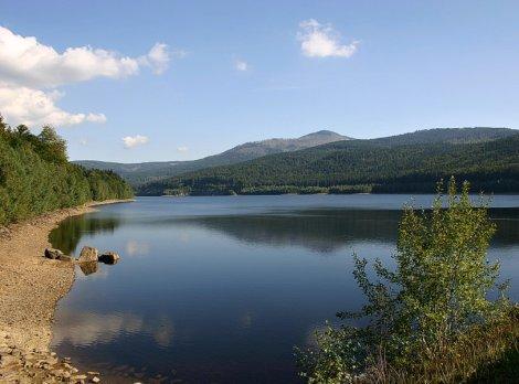 Jezero s pitnou vodou Frauenau