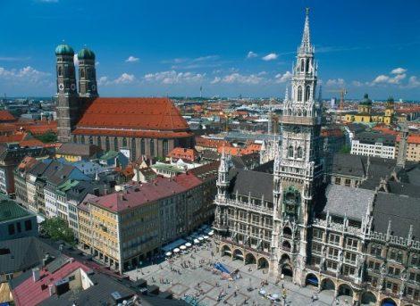 Pohled na historické náměstí