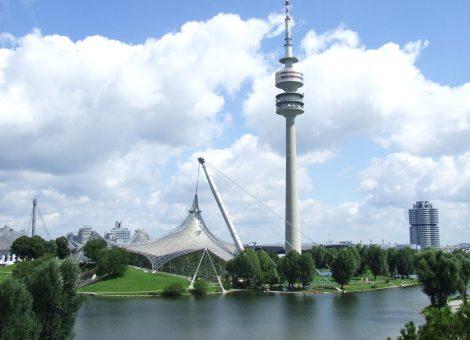 Olympijský areál v Mnichově